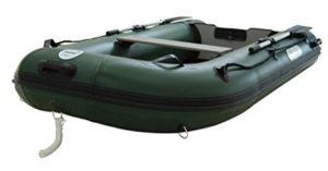Schlauchboot-mit-Elektromotor Angelboot