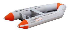 Schlauchboot-mit-Elektromotor Sportboot
